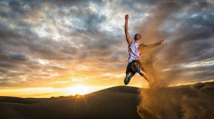 RedBull - Dune Jump